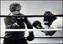 Norman Mailer boxing