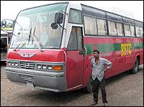 Dhaka-Agartala bus