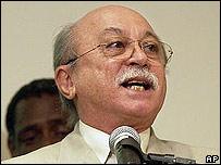 Roberto Amaral, ministro de Ciencia y Tecnología brasileño