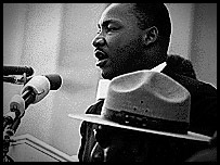 Martin Luther King's speech was magnificent