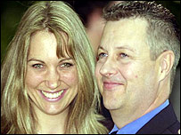 Brian Stevens and his wife Jane