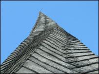 Chesterfield spire