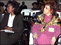 Alicia Saura y Lágrima Ríos, de Mundo Afro