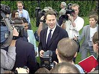 Michael Portillo during the last Conservative leadership campaign
