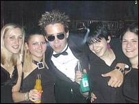 Students at Nottingham Trent freshers ball