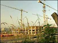 Abuja building site