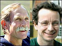 Peter Agre y Roderick MacKinnon