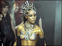 Akasha, the vampire in Queen of the Damned