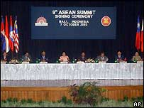Asean leaders meet in Bali