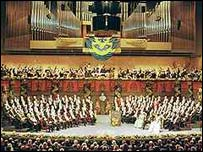 Ceremonia de entrega del Nobel (fotos gentiliza de Fundaci�n Nobel)