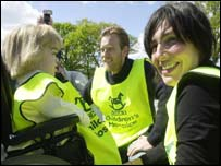 Ewan McGregor and Sharleen Spiteri with Robyn Watterson