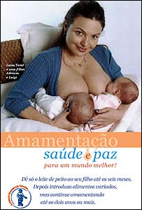 Luiza Tome in campaign poster