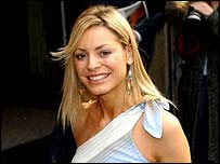 SM:tv presenter Tess Daly