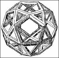 One of Leonardo's dodecahedrons