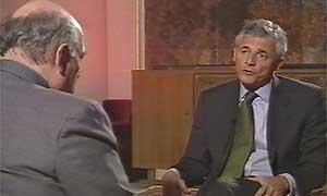 Sergio de Mello with Tim Sebastian