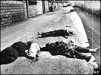 The victims of a chemical attack in Halabja in 1988