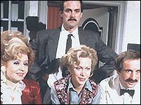 Fawlty Towers cast