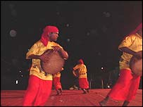 Sekar of the dancing troupe