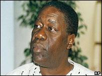 Liberia's president, Gyude Bryant