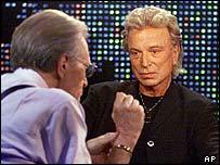 Larry King and Siegfried Fischbacher