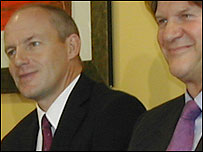 Steve Coppell (left) and Reading chairman John Madejski