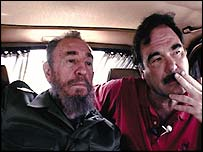Fidel Castro and Oliver Stone