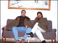 Хуан Альмейда и Леша-Тарзан