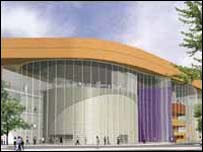 Design for new theatre