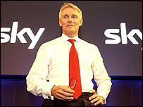 BSkyB chief executive Tony Ball