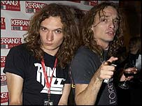 Dan Hawkins and Justin Hawkins