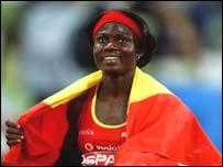 Nigerian-born Gloria Alozie