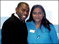 Carl Whittaker and Sherrie Panther