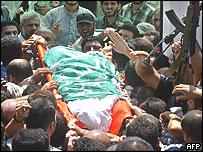 Ismail Abu Shanab's funeral