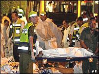 Suicide attack in Jerusalem killed 20