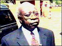 Rwandan presidential candidate Faustin Twagiramungu