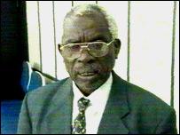 Rwandan presidential candidate Jean-Nepomuscene Nayinzira