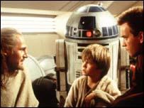 Anakin, Obi Wan and Qui-Gon Jinn, Lucas Arts