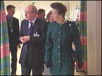 Princess Royal at the ERI