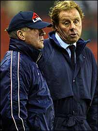 Harry Redknapp and Jim Smith