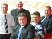 Wales' new regional rugby coaches