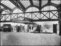 Moor Street Station in its heyday