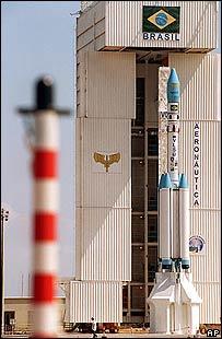 Cohete brasileño lanzado en 1999