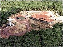 Base espacial de Alcántara en Brasil.