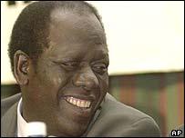 Kenyan Vice-President Michael Kijana Wamalwa