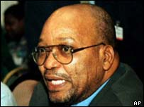 South African Deputy President Jacob Zuma