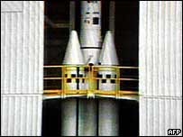 VLS rocket undergoes tests at Alcantara (archive)