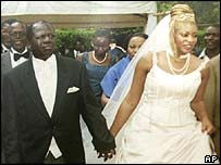 Michael Kijana Wamalwa and his wife Yvonne