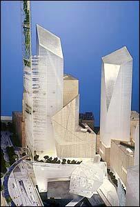 Daniel Libeskind's original WTC design
