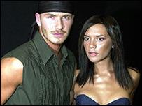 Beckham y Victoria