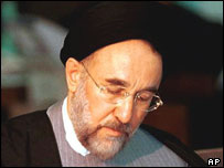 Iran President Mohammad Khatami